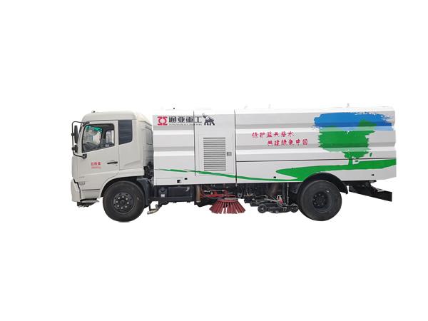 WTY5180TXSE5东风8吨洗扫车