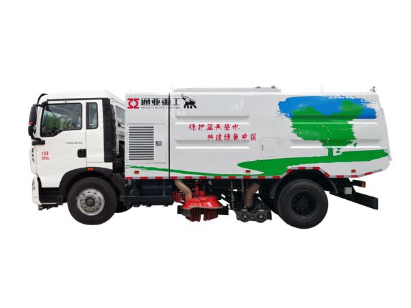 WTY5180TSLS5重汽单、双发无尘扫路车