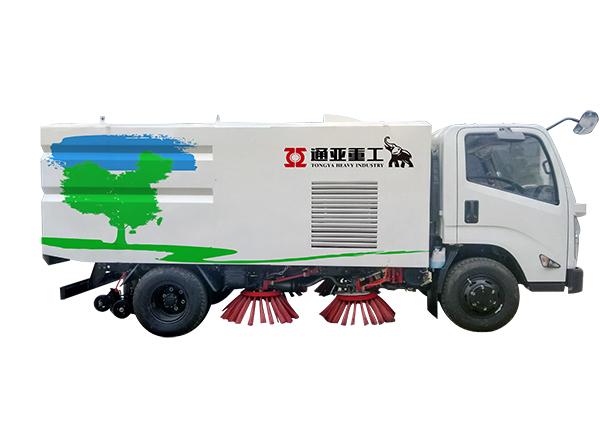 WTY5080TSLJ5江铃湿式扫路车