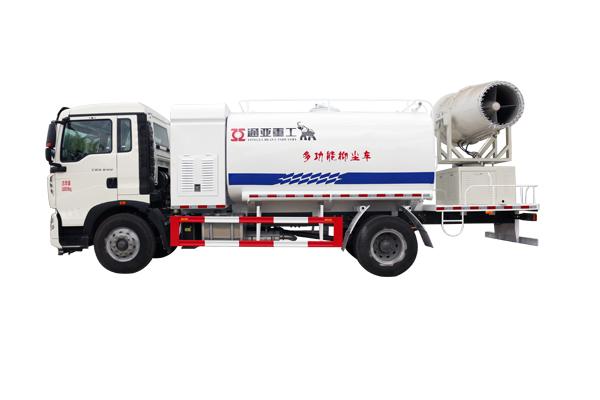 WTY5250TDYS5型重汽单、双发抑尘车