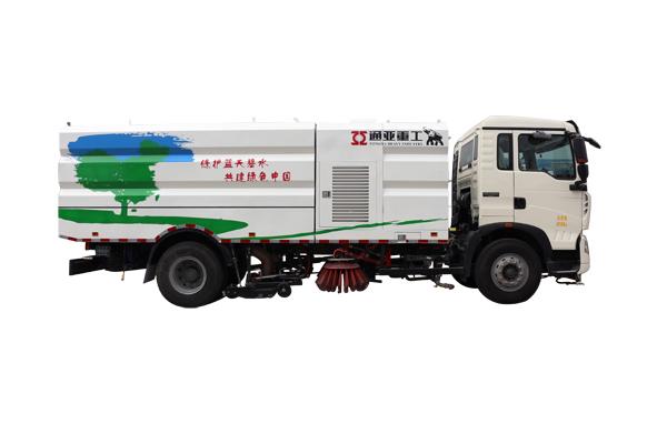 WTY5180TXSS5型重汽单、双发洗扫车