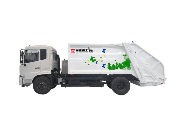 WTY5180ZYSE5东风8吨压缩式垃圾车
