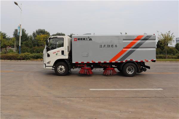 WTY5080TSLJ6型湿式扫路车