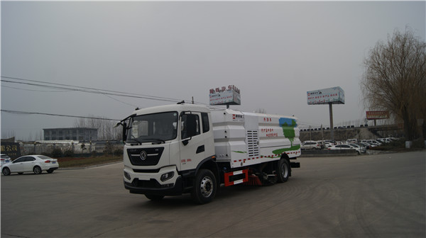 WTY5180TXSE6型东风国六洗扫车