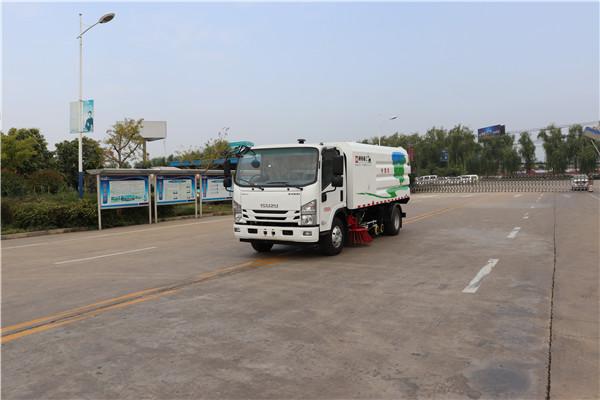 WTY5080TXSQ6型庆铃洗扫车