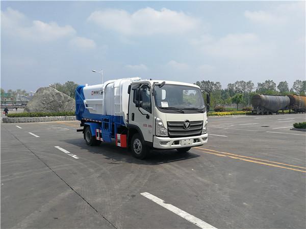 WTY5080ZZZA6型自装卸式垃圾车