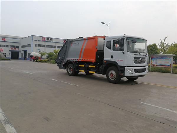 WTY5180ZYSDNG6型东风多利卡LNG国六压缩式垃圾车