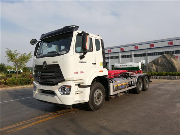 WTY5250ZXXC6型车厢可卸式垃圾车