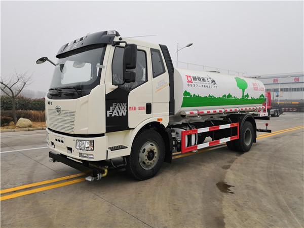 WTY5180GQXC6型解放清洗车(洒水车)