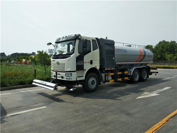 WTY5250GQXC6型高/低压清洗车