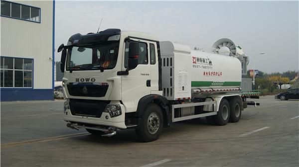 WTY5251TDYS6型单发多功能抑尘车