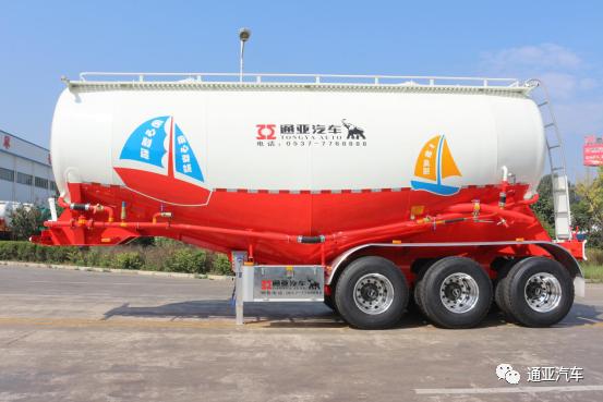 【媒体看通亚】前9月粉罐车同比增长63.3% 通亚汽车夺得粉罐车市场第一