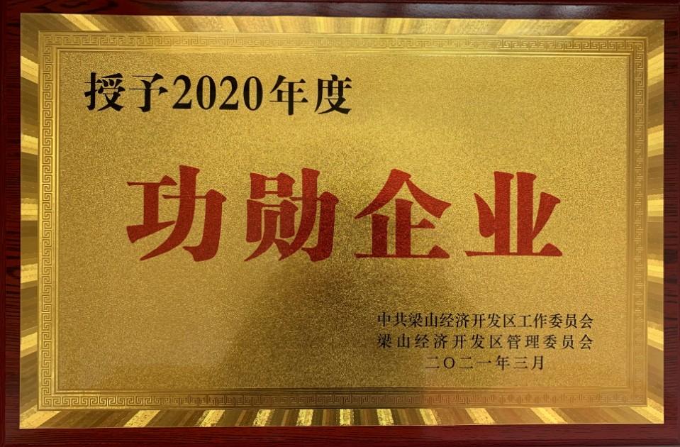 2020年度功勋企业
